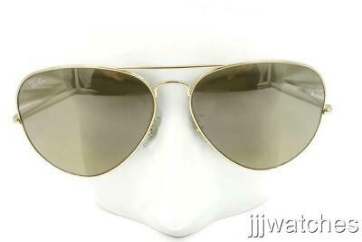 fd5579157228e New Ray Ban Large Aviator Gold Brown Gradient Sunglasses RB3025 001 3K 62     150
