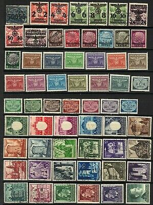 COLLECTION: POLAND General Government German Occupation Stamps - see 2 scans!