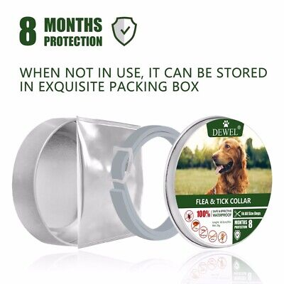 Us Dewel Seresto Pro Guard Flea And Tick Collar For Dogs | Us Stock