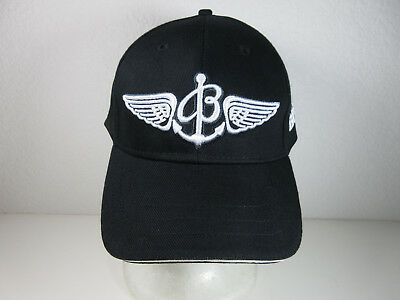 91eeefa8896 New Breitling Since 1884 Baseball Cap Hat Black Strapback Embroidered  Watches