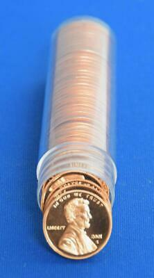 2001 S DCAM PROOF LINCOLN CENT ROLL ( 40 coins )