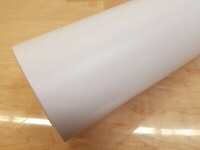 """Matte White Cutting Sign Lettering Craft Vinyl 12"""" Adhesive Backed Decal Roll"""