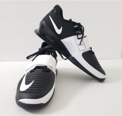 official photos babc6 b58da NEW Nike Romaleos 3 Womens 14 Flywire Weightlifting Shoes Black White
