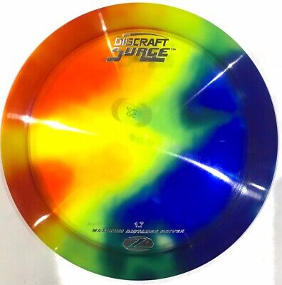 Beautiful Discraft Z Surge Os Disc Golf Driver - Rainbow Fly Dye 170-172 M15S