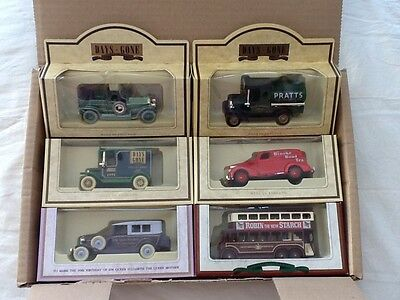 Collection of Lledo - Days Gone - Diecast Cars/Vehicles - Never Been Out of Box.