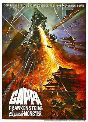 Monster from a Prehistoric Planet aka Gappa the Triphibian Monsters 1967 DVD