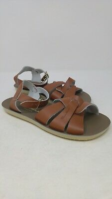 667cfe279f66 SUN SAN SALTWATER Sandals Toddler Girls Sweetheart Brown OR Navy NEW ...