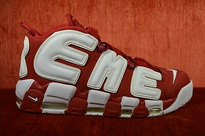 df253071f WORN TWICE Nike Air More Uptempo Supreme Suptempo Red 902290-600 Size 13