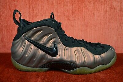 ee87cc06762 CLEAN NIKE AIR FOAMPOSITE PRO MENS GYM GREEN 624041 302 Size 8 Brown ...