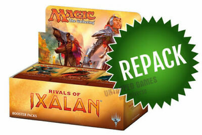 Rivals of Ixalan Booster Box Repack! 36 Opened MTG Packs In Box