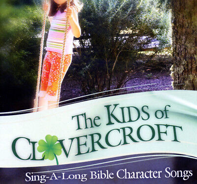 The Kids Of Clovercroft Village Vol. 2 Sing-A-Long Bible Character Songs CD NEW