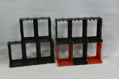 Vintage Audio Tape Cassette Storage Cube System - For 44 Audio Tapes