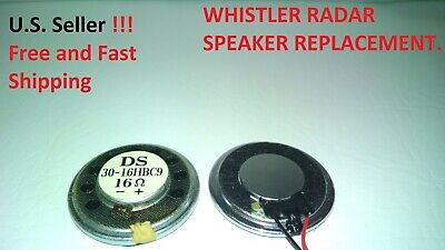 Whistler Radar Speaker Replacement ***new***