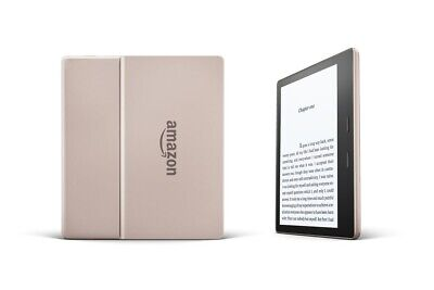 "Kindle Oasis E-reader Champagne Gold 32GB 7""/Waterproof/Audible LATEST GEN NIB!"