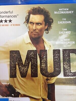 Mud - Bluray 2013 As New!