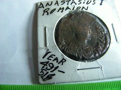 BYZANTINE Large (29mm) Byzantine coin, Eastern Roman Empire,.(BY24)