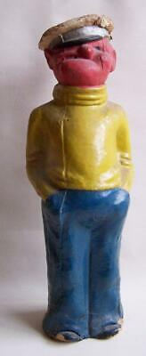 Vintage Moulded Card, Freestanding 'popeye Model'. A/f.