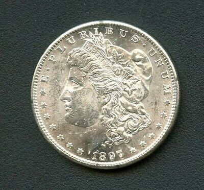 1897 S Morgan Silver Dollar