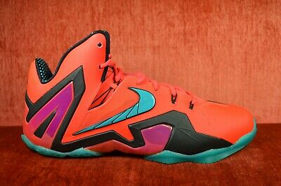 uk availability a35ae fc8fa WORN ONCE NIKE LEBRON XI 11 Elite Super Hero Size 11 642846 600