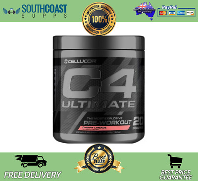 Cellucor C4 Ultimate Id Series Most Explosive Pre-Workout Cherry Limeade Flavour