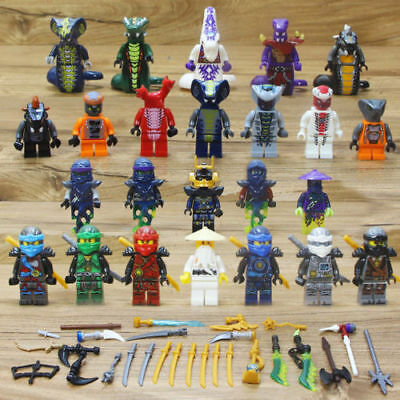 24X Ninjago Ninja Movie Lloyd Garmadon Cole Minifigure Minifigures & Lego 71019