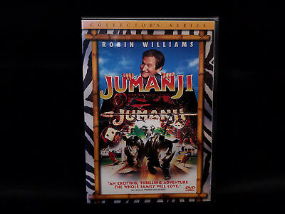 Jumanji Dvd Collector's Series New Sealed