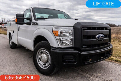 2014 Ford F250 xl Used service utility mechanics work truck lift gate clean nice