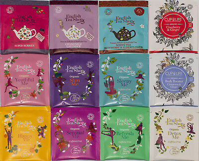 HEALTHY HERBAL TEA Beauty & Detox Sample Pack Moringa Organic Rare New Tea  Bags