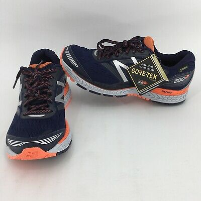 NEW BALANCE 880V7 Gore-Tex Mens Running Shoes Blue Orange M880BX7 Size 8