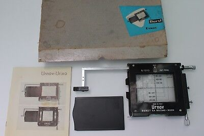 Durst Urnov 6X9 Cm Copy Attachment With Film Holder For Enlargers
