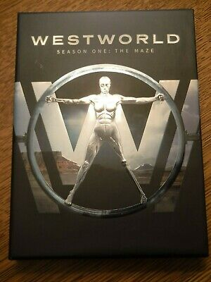 Westworld: The Complete First Season 1 (DVD, 2017, 3-Disc Set) EXCELLENT COND