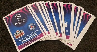 End of FY Sale! Match Attax 2018/19 UEFA Champions League - Lot of 25 cards