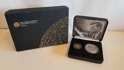 John F Kennedy Gold And Silver Two-coin Proof Set 2013