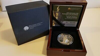 100th Anniversary Of The Proclamation Of The Irish Republic €15 Silver Proof...