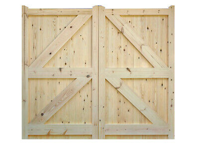 Driveway Gates. Garden gates Wooden Made to Measure available