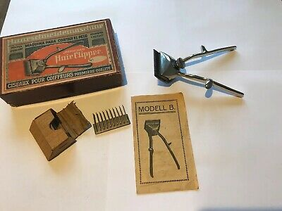 JMPROVED Hair Clipper Haarschneidemaschine Modell B -Rasierer- Barbier- Retro