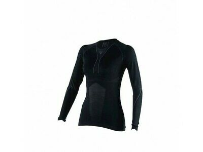 Technical Shirt Motorbike Woman Dainese D-CORE DRY TEE LS LADY Black/Anthracite