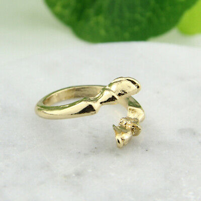 Women Vintage Punk Ring Creative Opening Finger Ring Couple Jewelry Gift LT