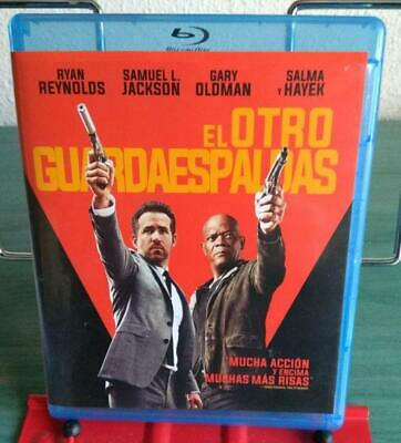 El otro guardaespaldas (The Hitman's Bodyguard) blu ray // Leer descripcion