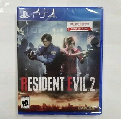 Resident Evil 2 Remake (PS4 / PlayStation 4) BRAND NEW / Region Free