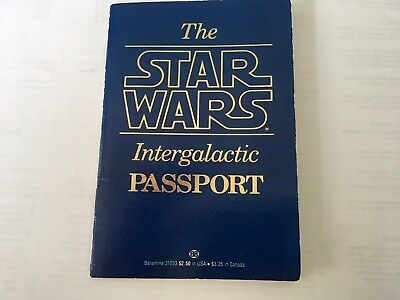 Vintage Star Wars INTERGALACTIC PASSPORT (1983) WITH 5 AUTOGRAPHS