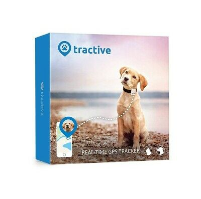 Tractive Dog GPS Tracker Lightweight Waterproof Device with Unlimited Range