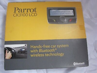 Parrot CK3100 Black Edition KFZ-Freisprechanlage  Bluetooth CK3100 wie neu