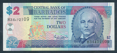 "Barbados: 2000 $2 SCIENTIST ""JOHN REDMAN BOVELL"". Pick 60 UNC Cat $27"