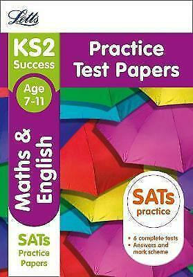 KS2 Maths and English SATs Practice Test Papers: 2019 tests (Letts KS2 Revision