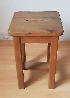 Stool vintage wooden
