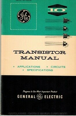 GE TRANSISTOR MANUAL Assorted Years to Choose From. ONE Book, Choice