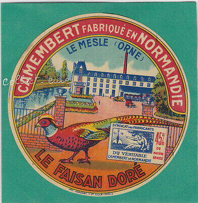 M109 Fromage Camembert Le Mesle Orne Faisan Dore