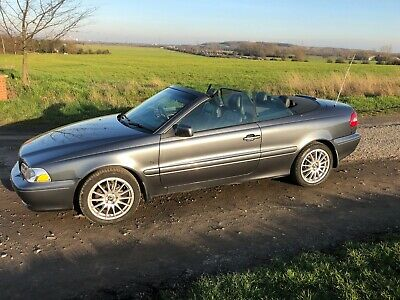 Volvo C70 2.0T Collection Convertible Grey 2005 69000 miles
