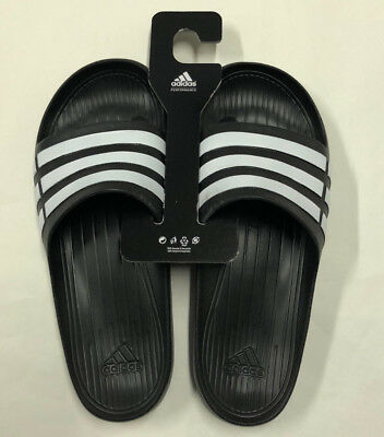 90b1f35acbee NWT MENS ADIDAS Duramo Slide Soccer Style Sandals In Gray -  29.99 ...
